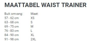 Latex waist trainer - paars luipaard