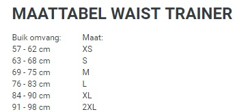 Latex waist trainer - paars