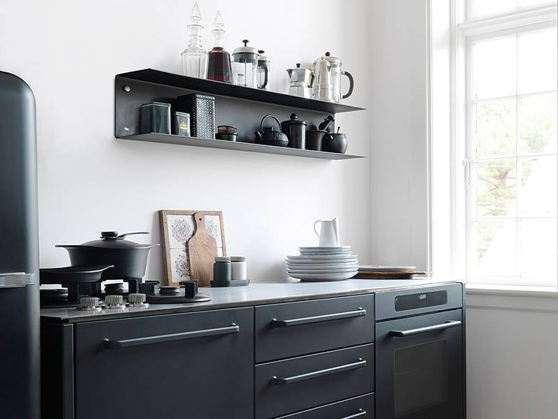 Keuken Van Vipp : Vipp shelf large black online shop matriks matriks