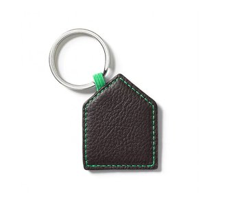Vitra Key Ring House Chocolate
