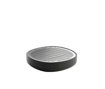 Alessi Birillo Soap Dish Dark Grey