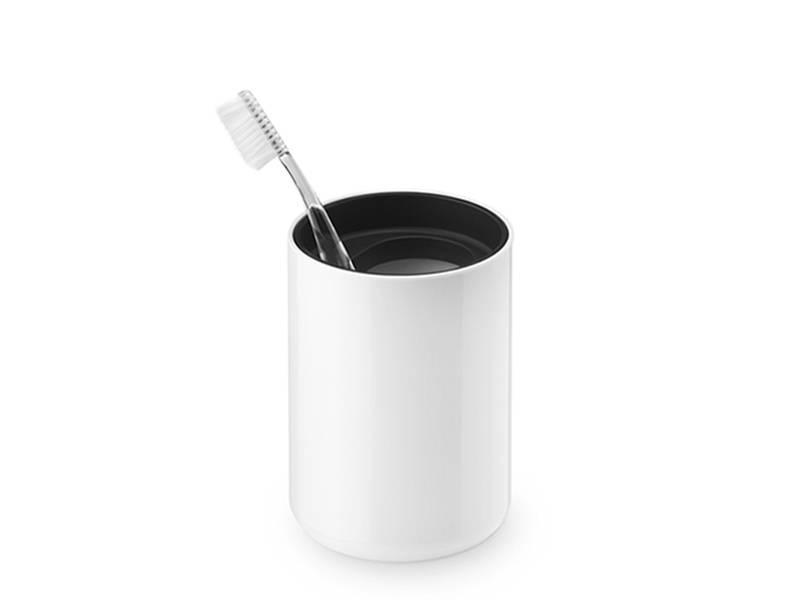 Authentics Lunar Toothbrush Cup Black