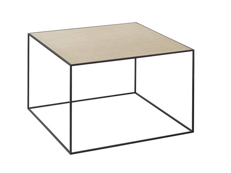 by Lassen Twin 49 Table Oak/White