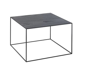 By Lassen Twin 49 Table Black/Cool Grey