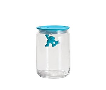 Alessi Gianni Voorraadpot 90 cl Turquoise
