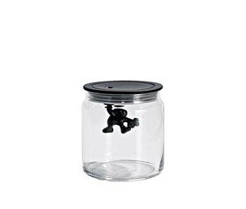 Alessi Gianni Jar 70 cl Black