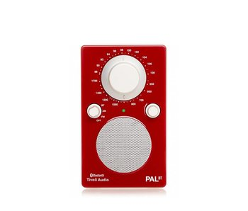 Tivoli Audio PAL BT Red/White