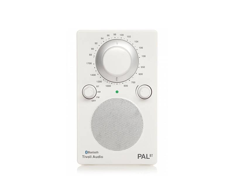 Tivoli Audio PAL BT White/White