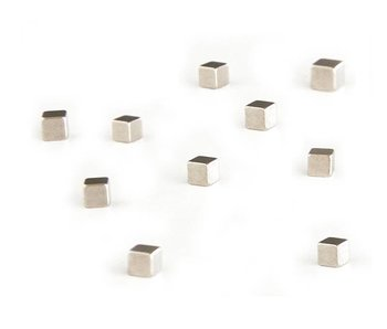 Trendform Kubiq Magnets Zilver 10 pcs.