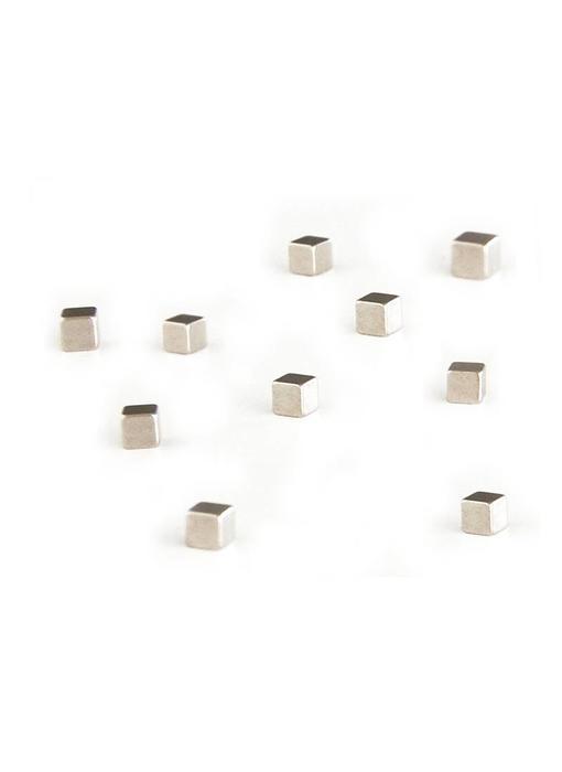 Trendform Kubiq Magnets Zilver 10 pcs.