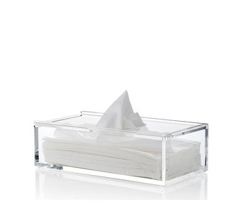 Nomess Clear Tissue Box