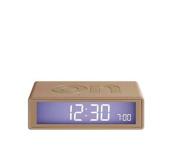 Lexon Flip Alarm Clock Gold
