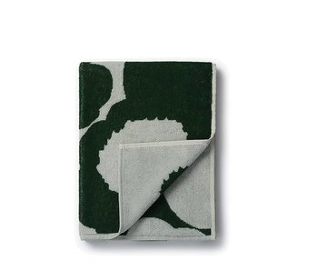 Marimekko Unikko Hand Towel Black/Grey