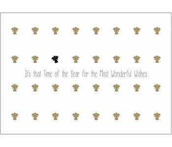 Matriks Set 6 Kerstkaarten Dubbel