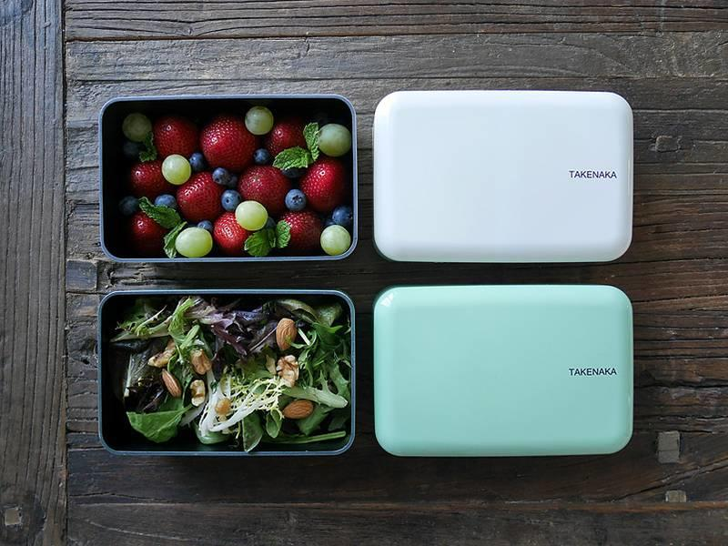 Takenaka Bento Box Rectangle White