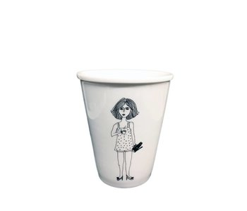 Helen B Cup Coffee Girl