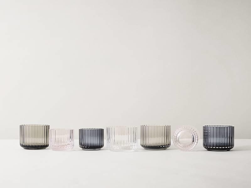 Lyngby Porcelaen Tealight Holder Smoke