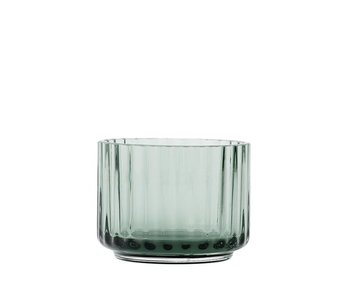 Lyngby Porcelaen Tealight Holder Green