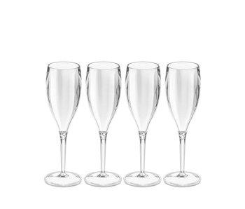 Koziol Cheers Champagneglas Kunststof 4pcs.