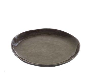 Serax Pure Rond Bord Grijs 28 cm