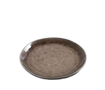 Serax Pure Rond Bord Bruin 20,5 cm