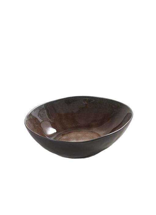 Serax Pure Ovaal Kom Bruin 20 cm