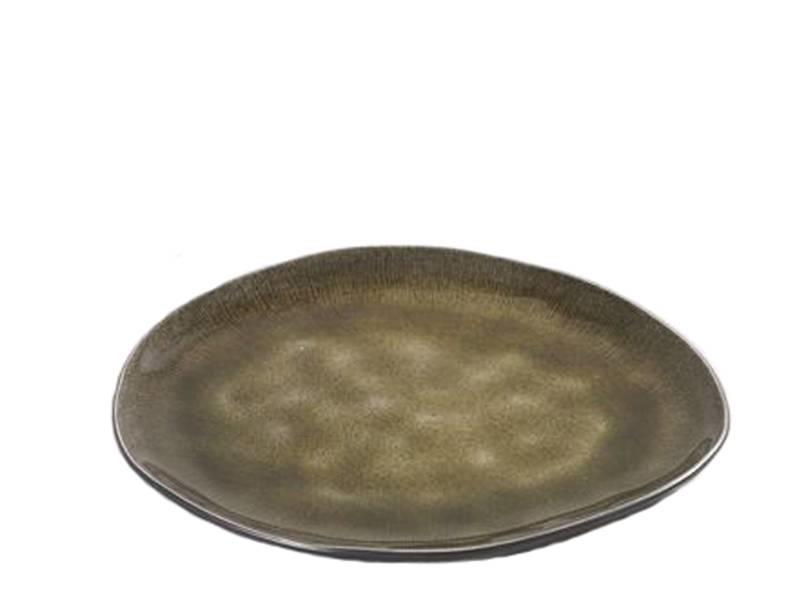 Serax Pure Ovaal Bord Groen 20 cm