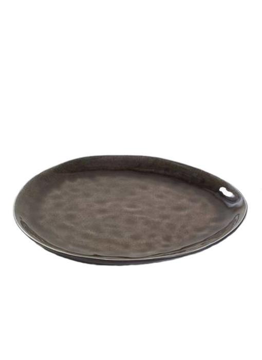 Serax Pure Ovaal Bord Bruin 28 cm