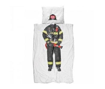 Snurk Dekbedovertrek Brandweerman