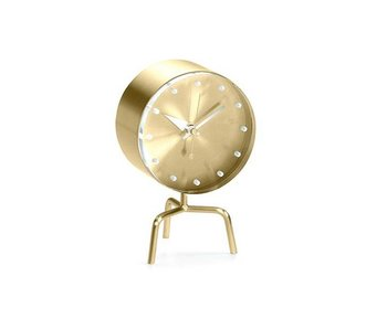 Vitra Tripod Clock Messing/Acrylglas