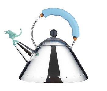 Alessi Tea Rex Fluitketel Lichtblauw