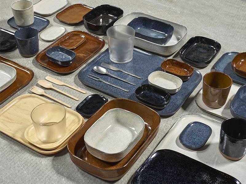 Serax Merci N°2 Bord L Blauw/Grijs
