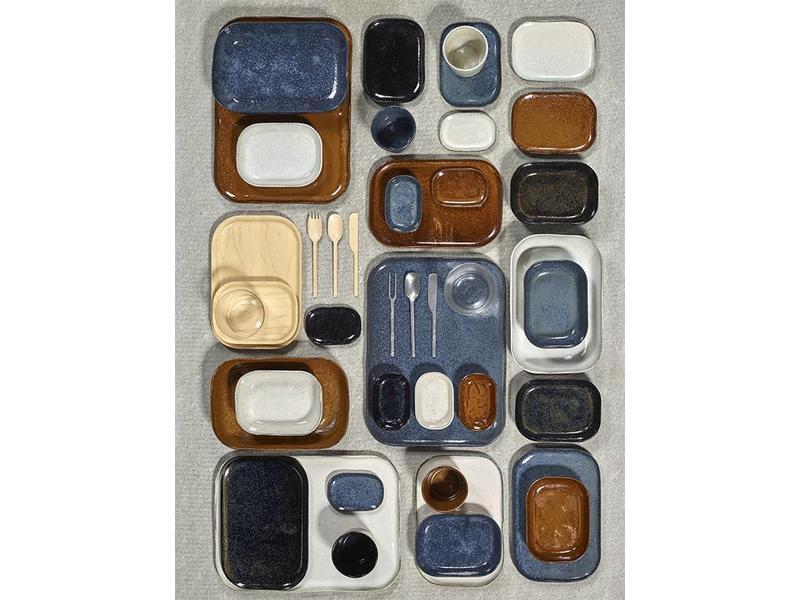 Serax Merci N°10 Ovenschaal Blauw/Grijs