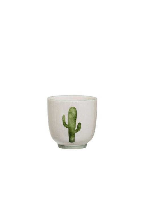 Bloomingville Jade Cup Green Stoneware