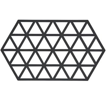 Zone Denmark Triangles Trivet L Black