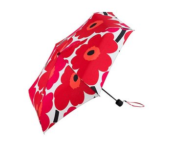 Marimekko Mini Unikko Umbrella Red