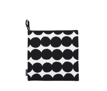 Marimekko Rasymatto Pot Holder Black/White