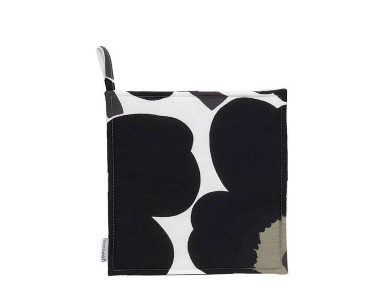 Marimekko Unikko Pot Holder White/Black