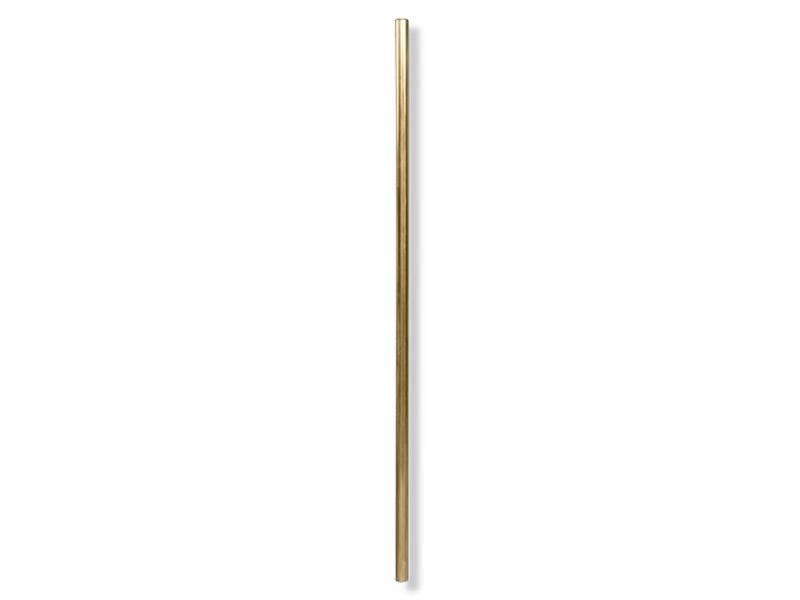 W&P Design Metal Straws Brass Large 4 pcs.