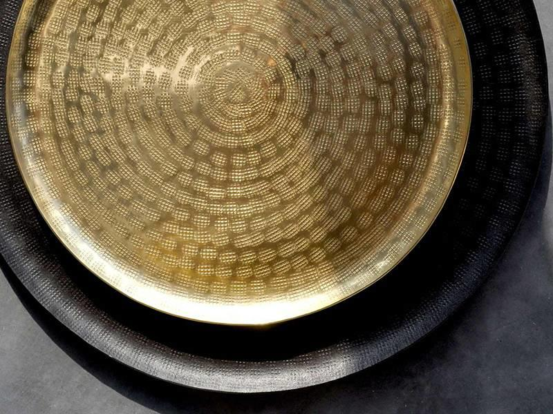 XLBoom Bali Tray Large Brass