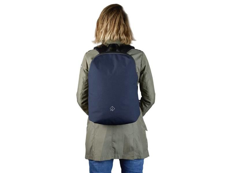 Wexley Urban Backpack Navy Blue/Black