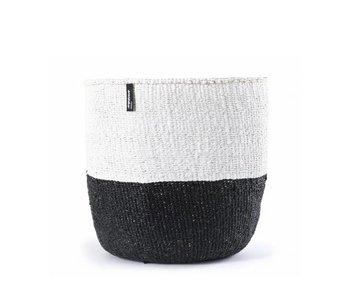 Mifuko Kiondo Basket S Black/White