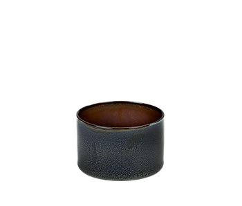 Serax TDR Beker Cylinder Laag Dark Blue/Rust