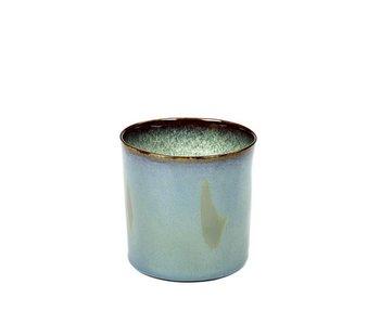 Serax TDR Beker Cylinder Hoog Smokey Blue