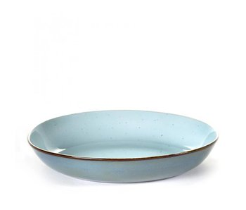 Serax TDR Diep Bord Light Blue/Smokey Blue 23,5 cm