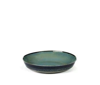 Serax TDR Schaal Smokey Blue/Dark Blue 17,5 cm