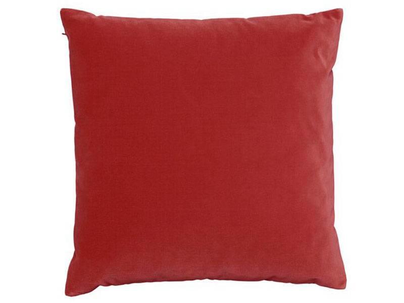 SemiBasic Lush Velour Cushion Coral