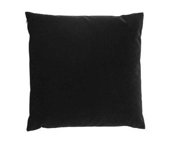 SemiBasic Lush Velour Cushion Black