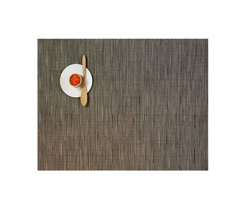 Chilewich Placemat Bamboo Charlcoal