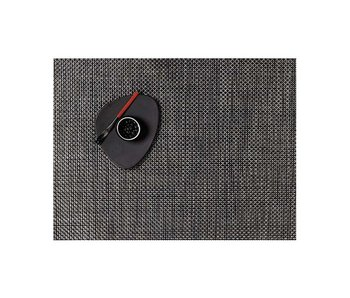 Chilewich Placemat Basketweave Carbon